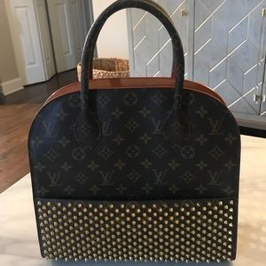 Louis Vuitton Iconoclast Christian Louboutin Bag